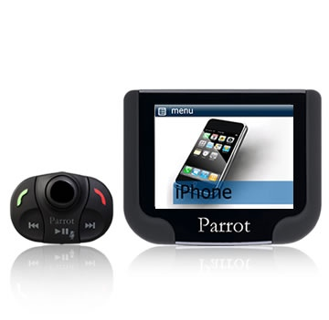 parrot hands free kit fitting instructions