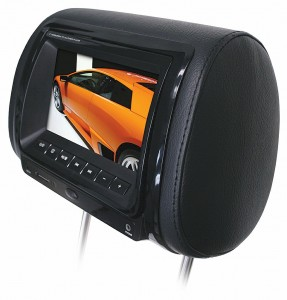 Planet Audio Headrest Screen with DVD