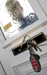 Car keys stolen via letterbox