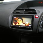 Honda Civic with Sat - Nav, DVD and Live TV.
