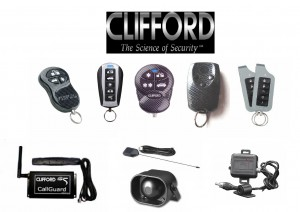 Faulty Clifford Car Alarm Repairs with Spare parts.