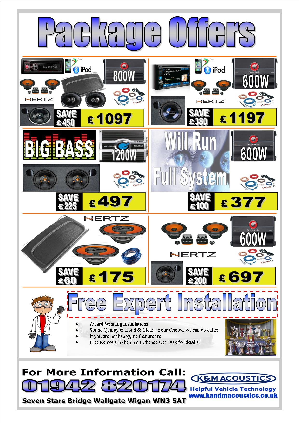Special Car Audio Offers